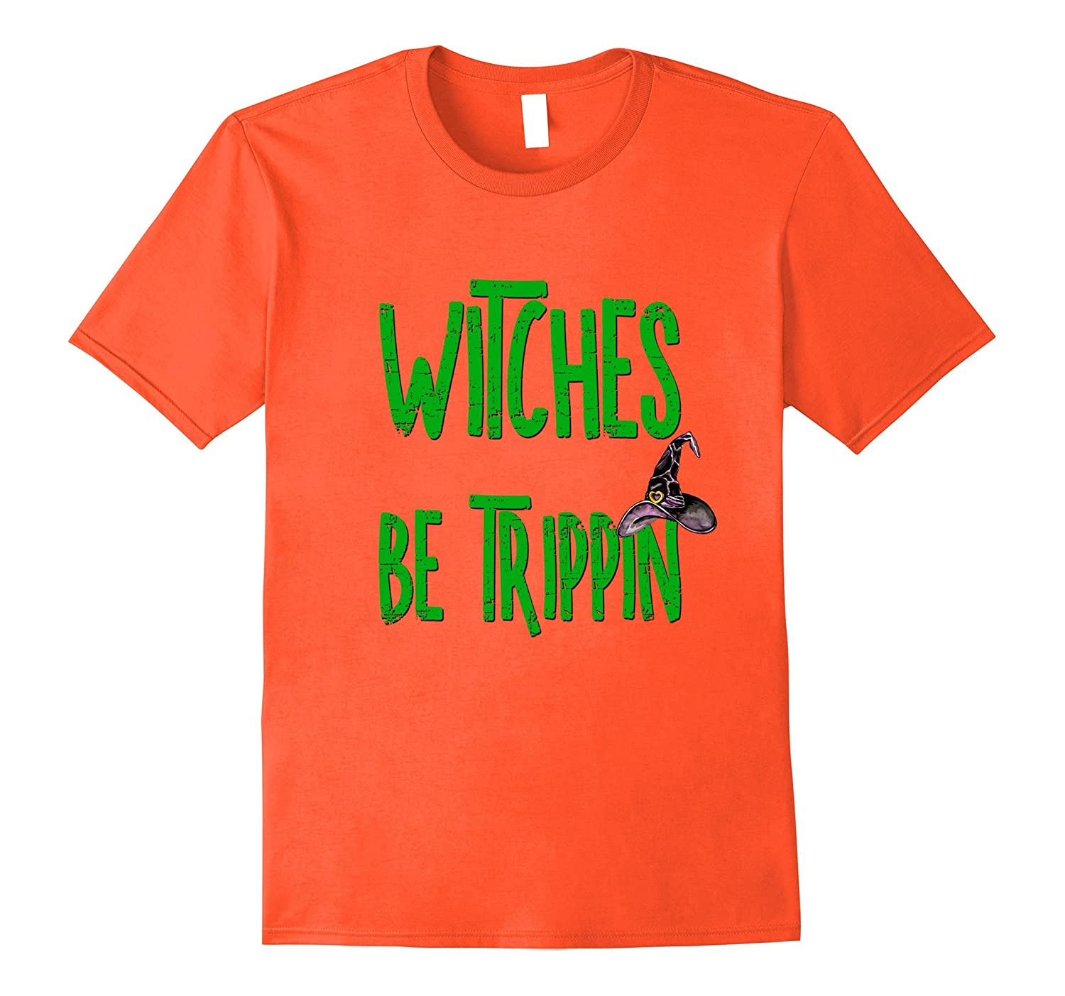 Funny Halloween Shirt Witches Be Trippin Witch Mom Teacher-Art