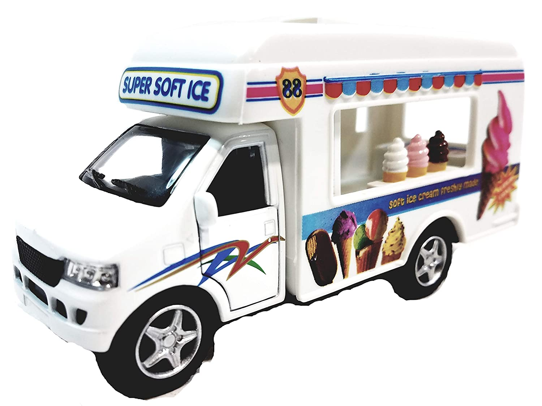 Kinsmart Route 88 Soft Ice Cream Vending Camper 1 43 O Scale Diecast Truck