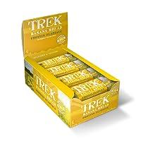Trek Banana Bread Protein Flapjack Bar 50 g (Pack of 16)
