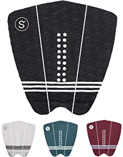 Sympl Surfboard Traction Pad • 3 Piece Deck Pad for Surfing, Skimboarding • Maximum Grip