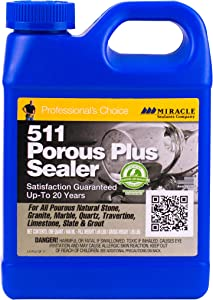 Miracle Sealants PLUSQT6 511 Porous Plus Penetrating Sealers, Clear