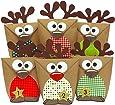 DIY Adventskalender Set Rentiere zum Befüllen - mit roten Bäuchen zum selber Basteln - mit 24 Tüten zum individuellen Gestalten und zum selber Füllen - Weihnachten 2017 - von Papierdrachen