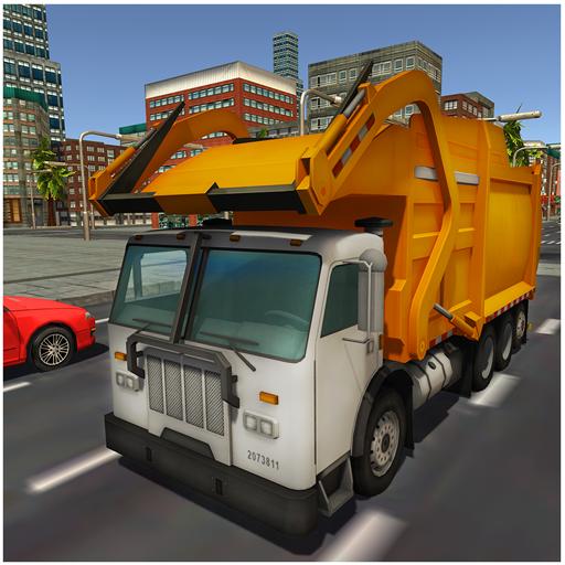 simulateur de camion poubelle appstore for android. Black Bedroom Furniture Sets. Home Design Ideas