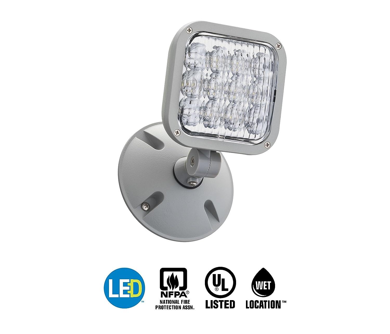 Lithonia Lighting Eu2 Led Wiring Diagram Library T8 Amazoncom Ela Wp M12 Emergency Remote Single Weather