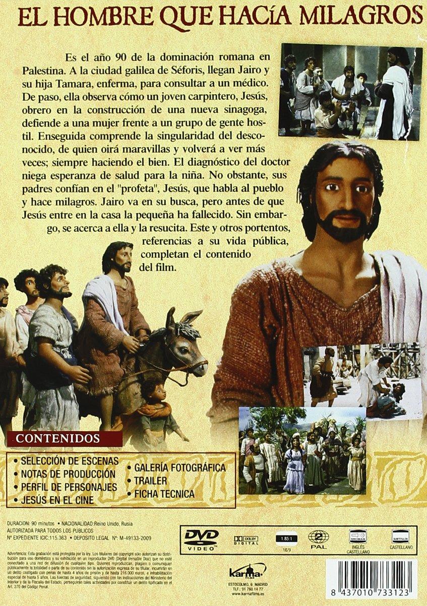 El Hombre Que Hacia Milagros Dvd Amazon Es Mel Gibson Cine Y Series Tv