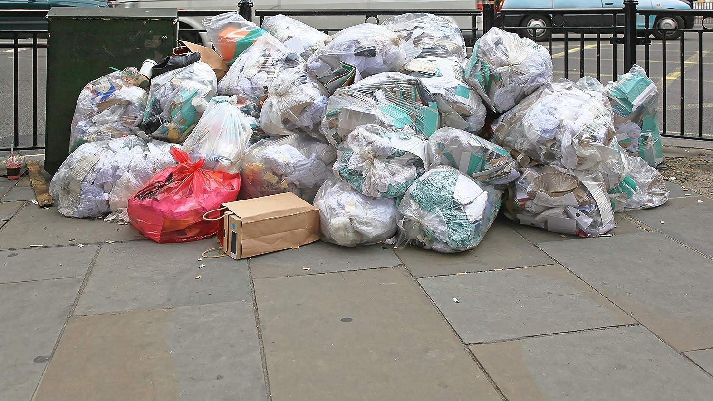 Toughbag 95 Gal Trash bags 2 Mil 61x68 25 Garbage Bags Per Case Black
