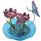 Peaktop 3215240A Glass Fountains, Multicolor