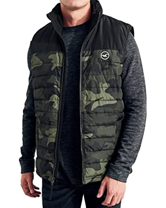 Camouflage jacke hollister