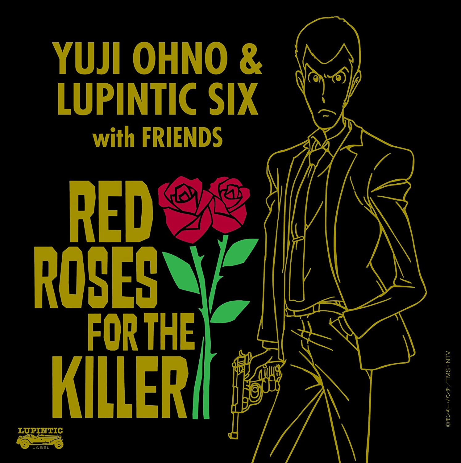 【动漫音乐】[170621]『鲁邦三世 ルパン三世』「Yuji Ohno & Lupintic Six(大野雄二)」2nd Album「RED ROSES FOR THE KILLER」[320K] -  - ACG17.COM