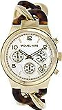 Michael Kors Damen-Armbanduhr Chronograph Quarz Edelstahl beschichtet MK4222