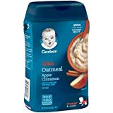 Gerber Baby Cereal, Lil' Bits Oatmeal Apple
