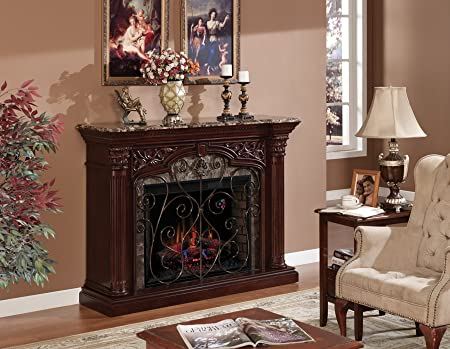 Classic Flame Astoria Infrared Electric Fireplace Mantel Package – 33WM0194-C232