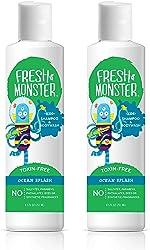 Fresh Monster Kids Shampoo & Body Wash, Ocean Splash  Toxin-Free Hypoallergenic