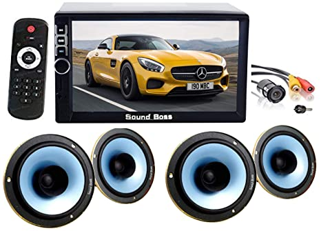 Sound Boss 2d In Bluetooth Car Video Player 7 Amazon In Electronics