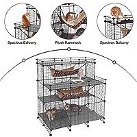 SONGMICS Multi-Tier Cat Playpen Deals