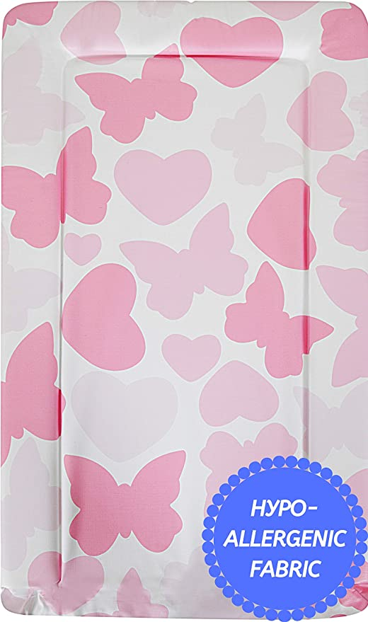 Travel Changing Mat Baby Changing Mat With Roses Girls Changing Mat Portable Gift For Baby Girls Waterproof Changing Mat