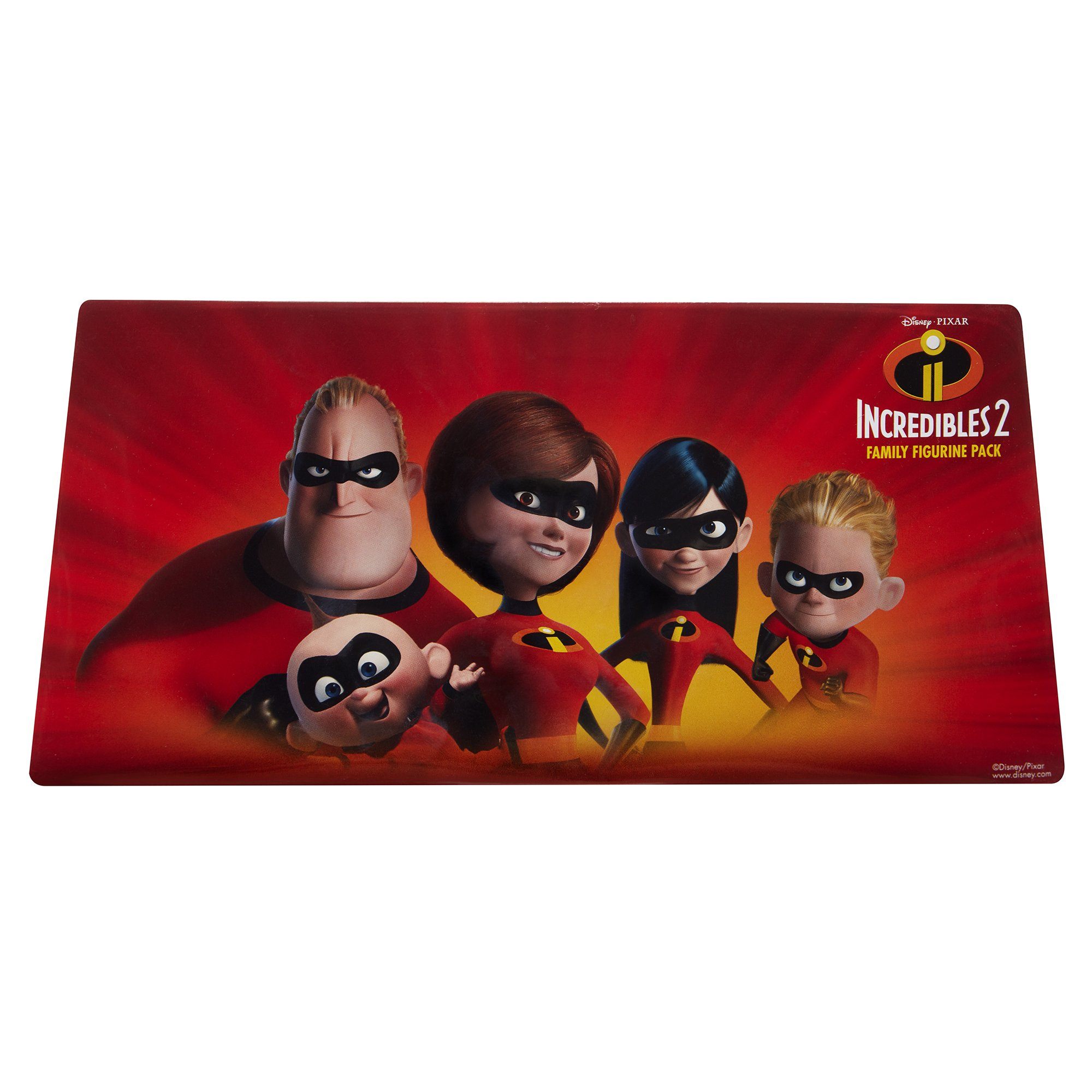 The Incredibles 2, 5 Piece Family Figure Set Comes with (Mr./Mrs. Incredible, Violet, Dash, Jack Jack) by The Incredibles 2 (Image #7)