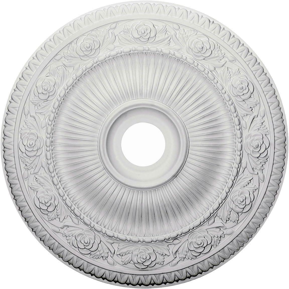 Ekena Millwork CM24LO1 Logan Ceiling Medallion, 24 1/4
