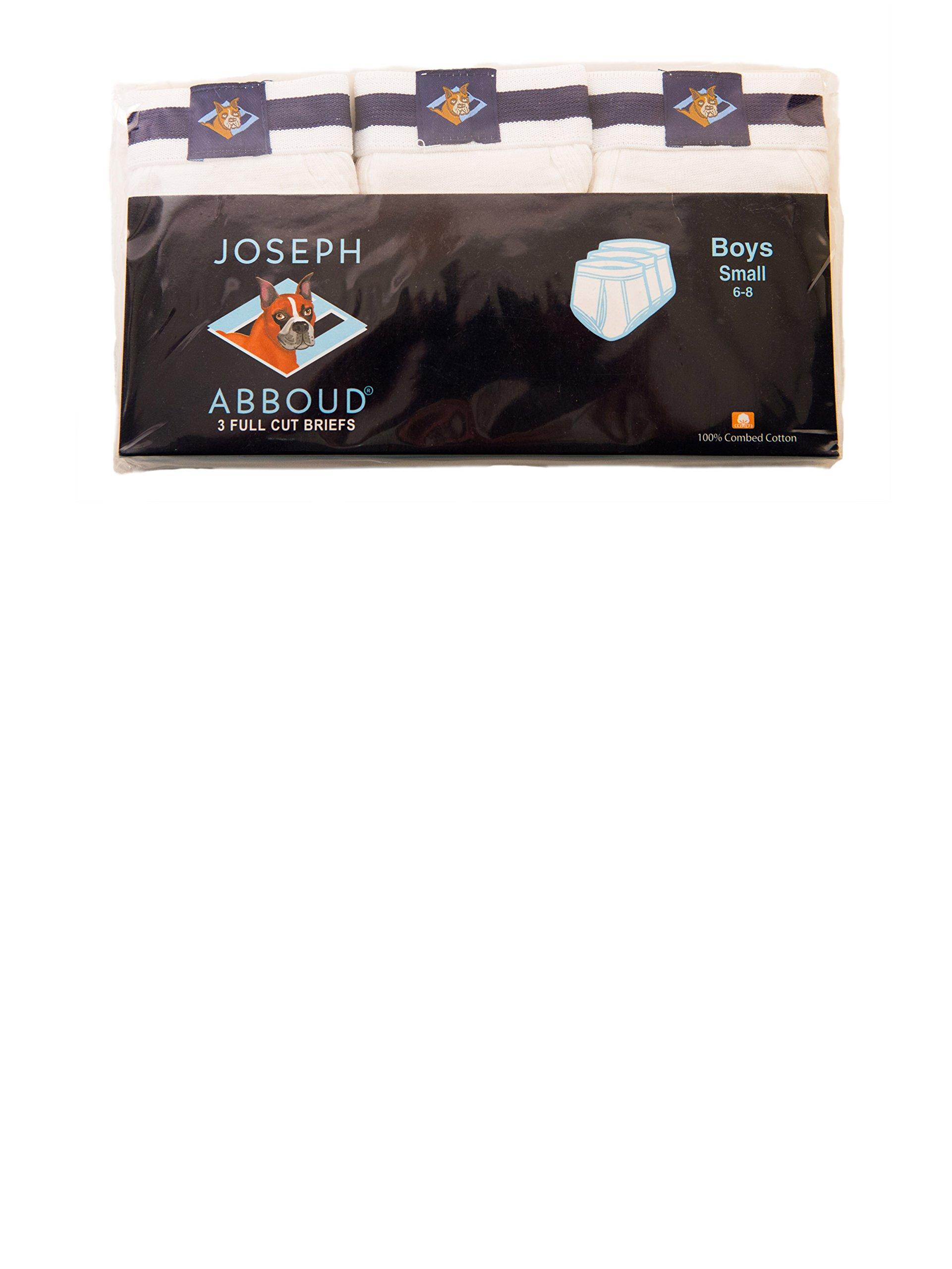 Joseph Abboud Boys 18 Pack Classics Full Cut Cotton Briefs (Small  6/8, 18 PK White) by Joseph Abboud (Image #3)