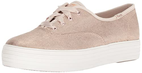99feed6c3da5 Keds Women s Triple Matte Brushed Metallic  Amazon.ca  Shoes   Handbags