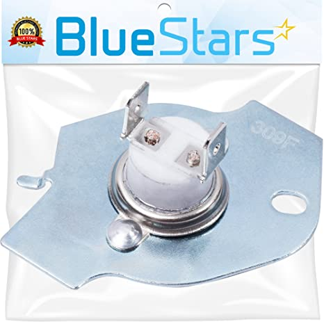 3977393 Dryer Thermal Cut-off Kit Replacement by Blue Stars – Exact Fit For  Whirlpool & Kenmore Dryers