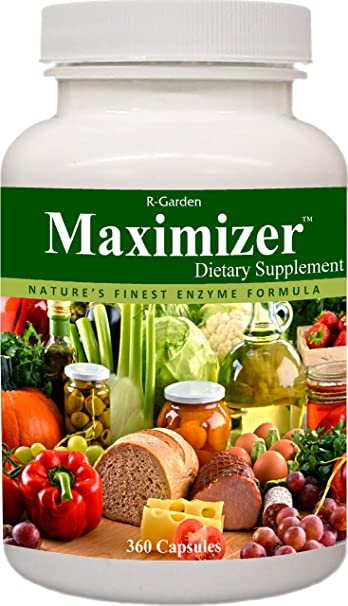 Amazon.com: R-Garden Maximizer Enzyme Supplement, 90 caps.: Health ...