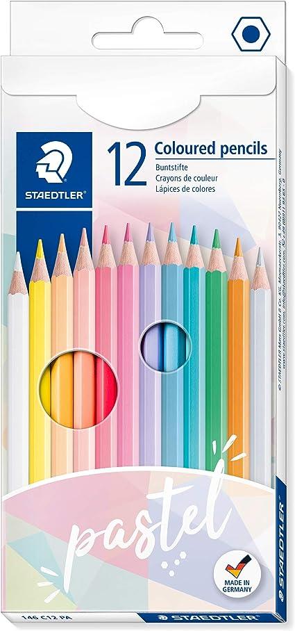 TOPERSUN pastelli colorati Matita colorata 72 colori con Scatola in Metallo Pastelli Pre-terra di Colori Vivaci per Adulti e pittori ideali per artisti adulti e bambini libri da colorare e scuola