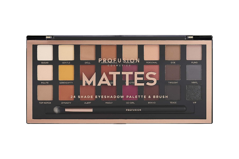 Profusion Cosmetics Professional Artistry Pro Eyeshadow Palette, Mattes