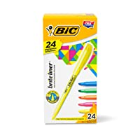 Deals on 24-Count BIC Brite Liner Highlighter Chisel Tip