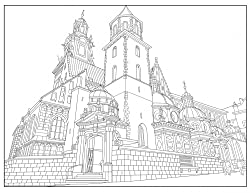 Travel Between the Lines Adult Coloring Books