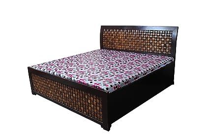 RYKA   PVC Printed Plastic Mattress Protector Bed Sheet