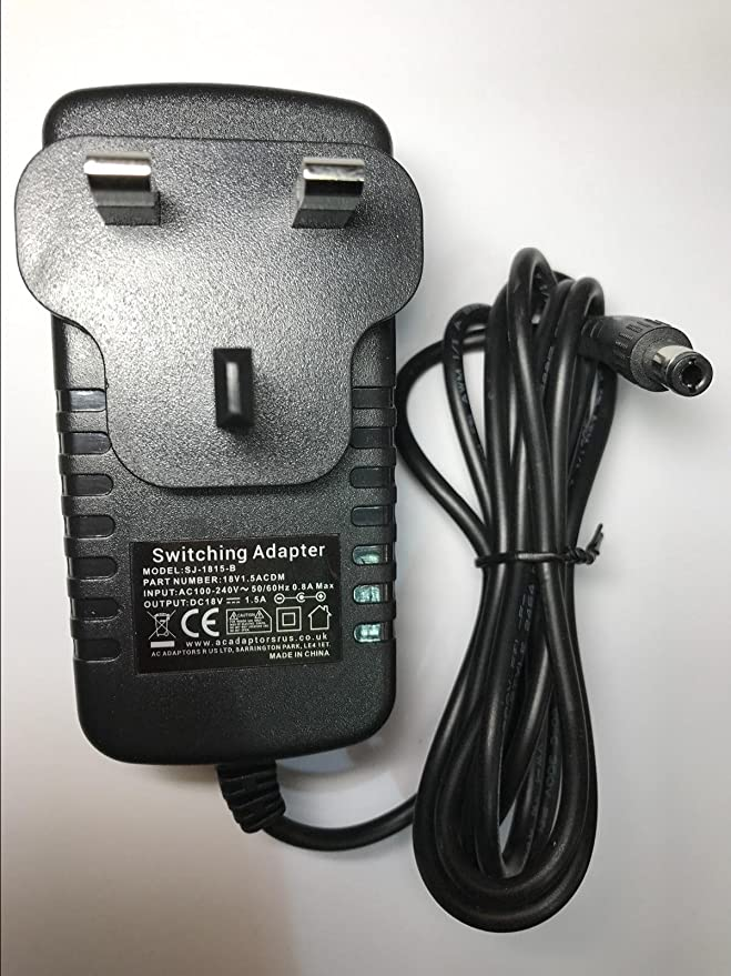 18V 1.5A 1500mAAC/DC Adaptador Cargador Fuente de ...