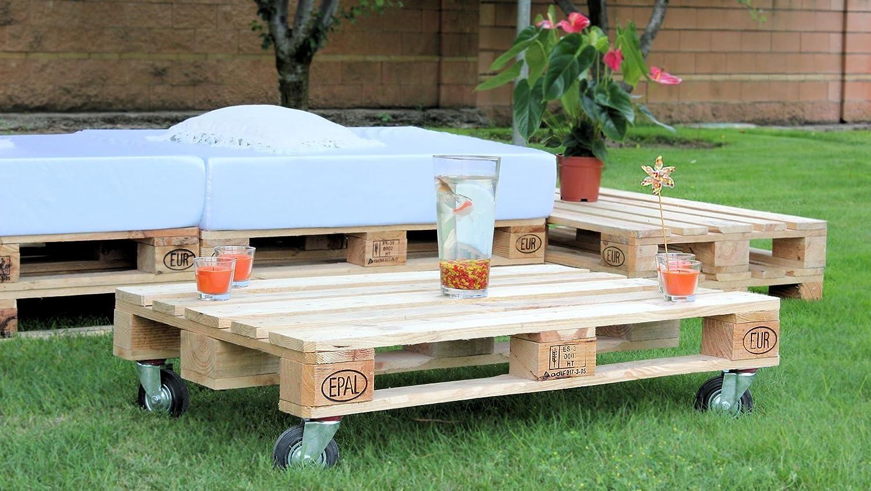 Chillout modular palets para jardín y terraza Europalet