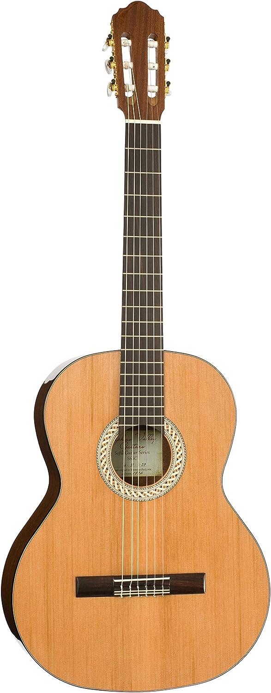 Depuis 1924 Bulgarie sapelli stratifi/é Acajou africain S53/C Solist S/érie Sofia 1//2 Kremona Guitare classique c/èdre Rouge massif