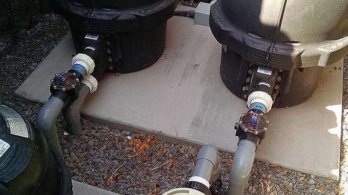 "FlowVis Flow Meter FV-C 2//2.5/"" GPM H2Flow"