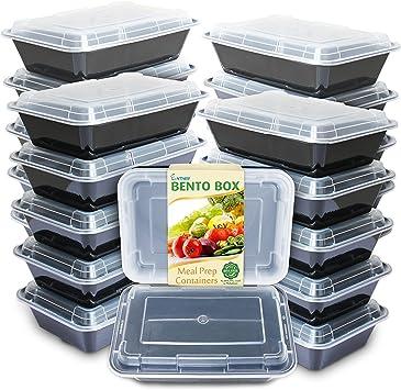 Amazon.com: Recipientes para comida preparada Freshware ...