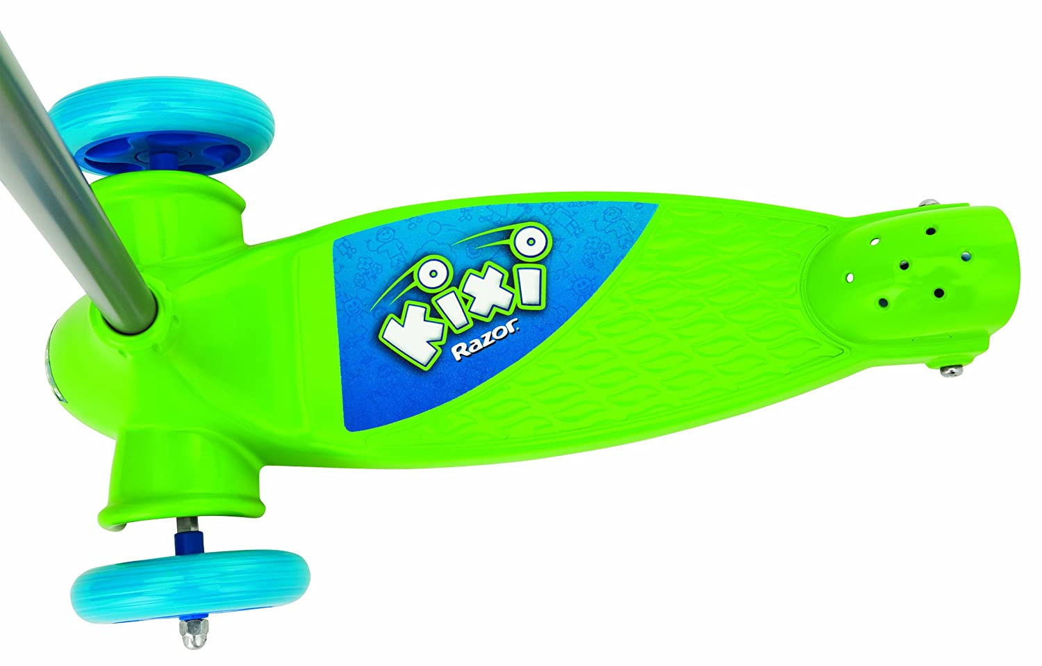 Amazon.com: Razor Kixi Kix Scooter – Azul/Verde: Sports ...
