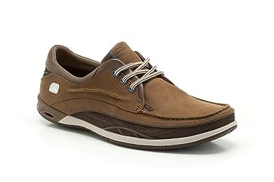 Clarks Herren Orson Harbour Derbys, Braun (Brown Leather