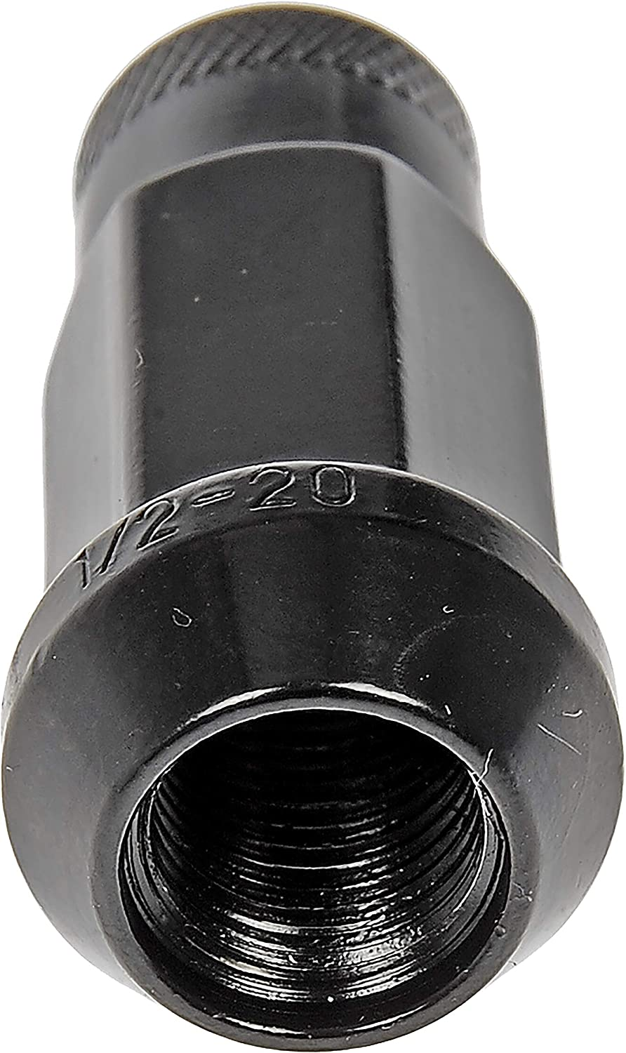 Dorman 713-285A Black Open End Knurled Wheel Nuts for Select Models