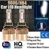 Set de conversión todo en uno de bombillas LED para faros delanteros 2017, luces de cruce, 9000…
