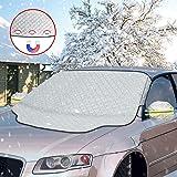 otumixx Främre vindruteskydd bil vindruteskydd vindruteskydd magnet fixering vikbar avtagbar billock för vindrutan mot…