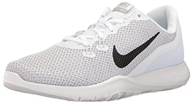Image Unavailable. Image not available for. Colour  Nike Women s Flex  Trainer 7 White Metallic Silver Training Shoe ... 594b03830