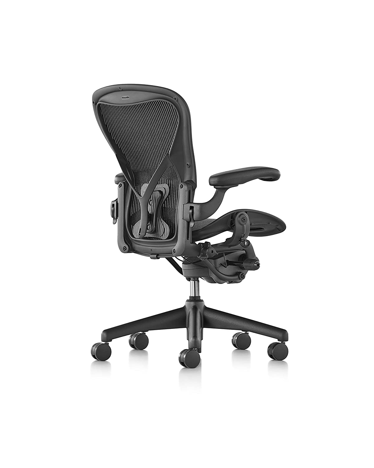 Amazon com herman miller classic aeron chair size b posture fit kitchen dining