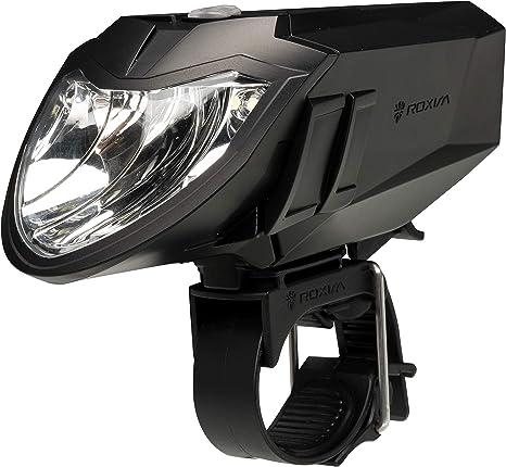 Luz Delantera de Bicicleta Roxim RX5AP Premium - CREE LED - IPX4 ...