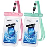 Mpow 097 Universal Waterproof Case, IPX8 Waterproof Phone Pouch Dry Bag Compatible for iPhone 11/11 Pro Max/SE/Xs Max/XR…