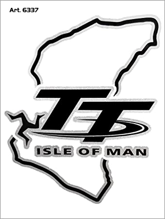 4r Quattroerre It 6337 Super Geformter Aufkleber Schaltung Tt Isle Of Man 10 X 12 Cm Auto