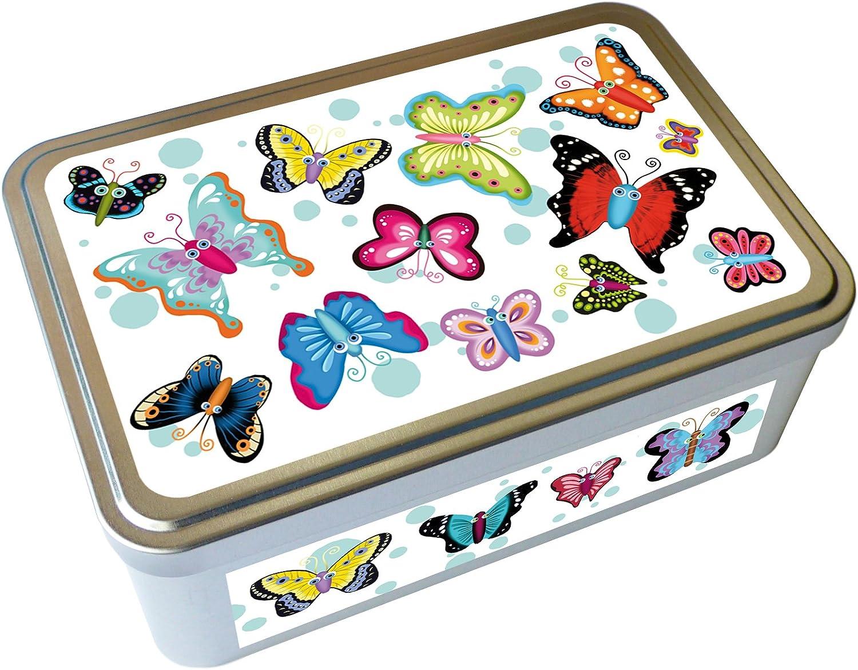 fabriqu/é en France Kalam Boite m/étal d/éco Papillons cr/éateur
