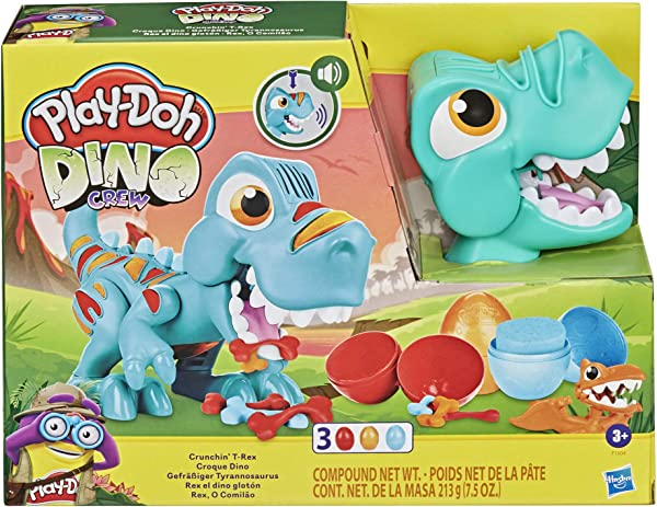 Play-Doh Dino Crew Crunchin' T-Rex in package