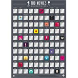 Gift Republic 100 Movies Bucket List Poster