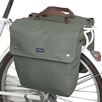 Tourbon Lona Impermeable para Bicicleta Asiento Trasero Carrier ...